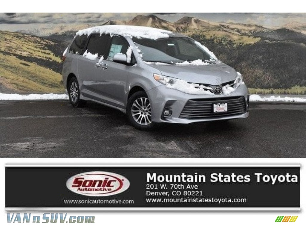 2018 Sienna XLE - Silver Sky Metallic / Gray photo #1