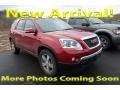 GMC Acadia SLT AWD Crystal Red Tintcoat photo #1