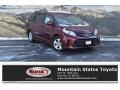Toyota Sienna LE Salsa Red Pearl photo #1
