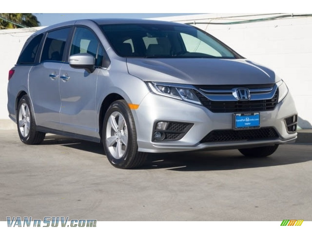 2018 Odyssey EX-L - Lunar Silver Metallic / Gray photo #1