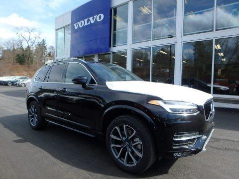 Onyx Black Metallic 2018 Volvo XC90 T6 AWD Momentum