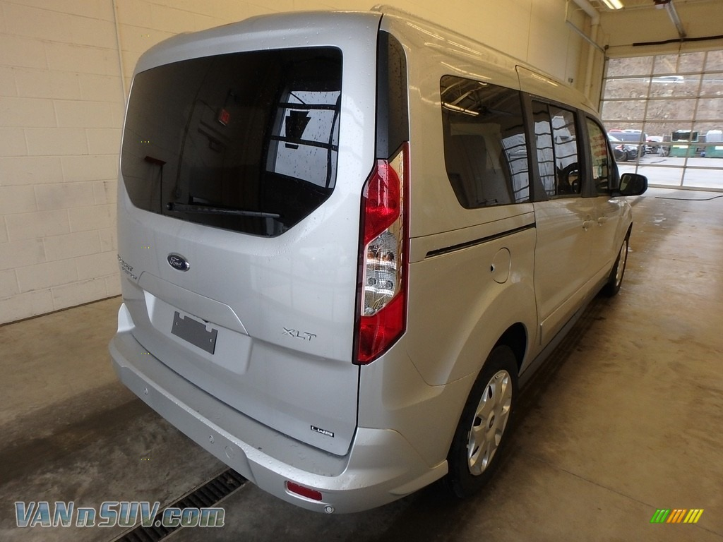 2018 Transit Connect XLT Passenger Wagon - Silver / Charcoal Black photo #2