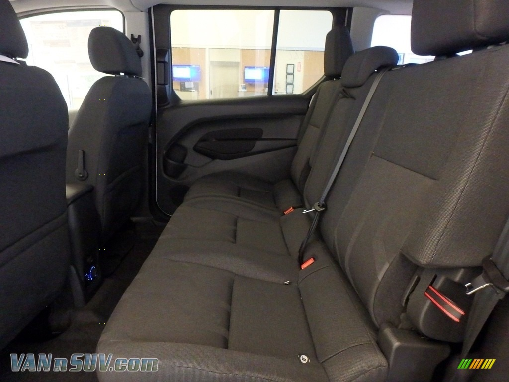 2018 Transit Connect XLT Passenger Wagon - Silver / Charcoal Black photo #7