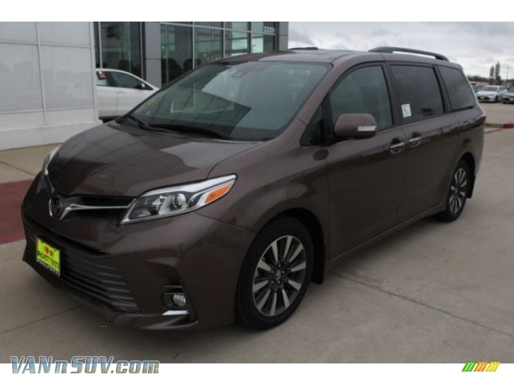 2018 Sienna Limited - Toasted Walnut Pearl / Gray photo #3