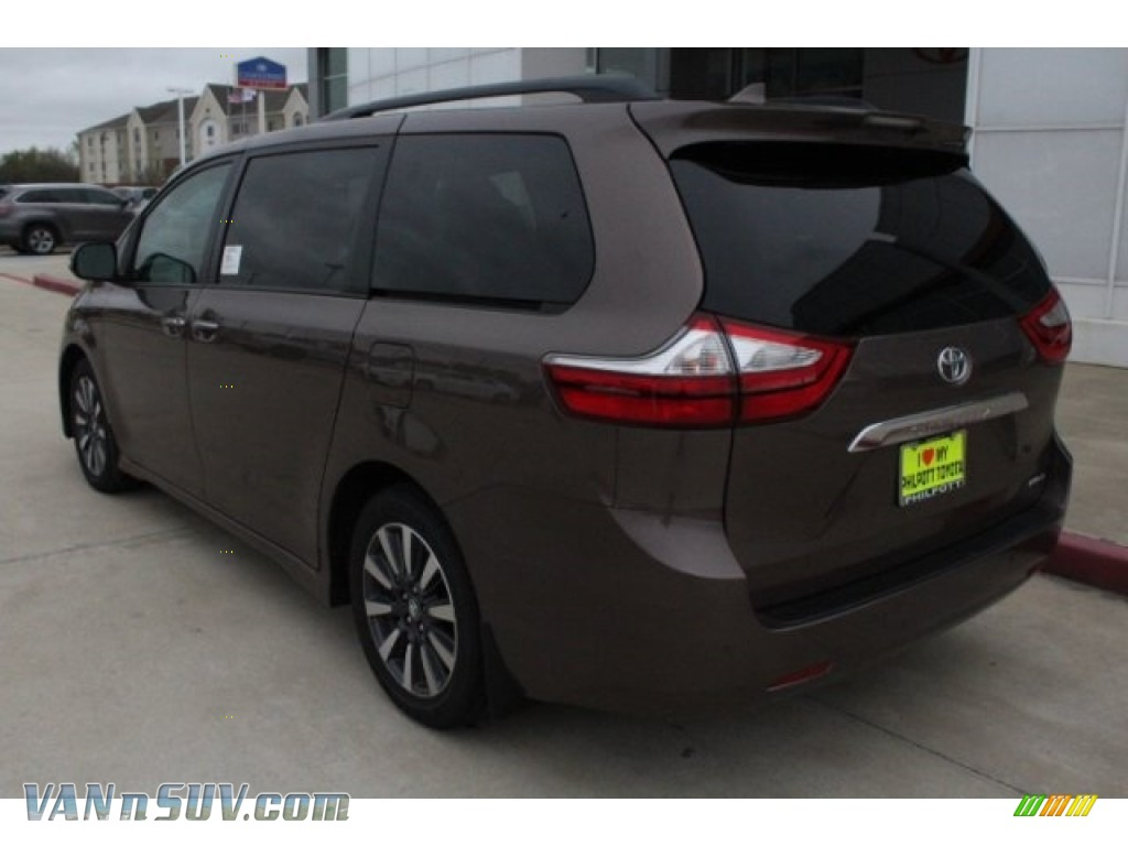 2018 Sienna Limited - Toasted Walnut Pearl / Gray photo #6