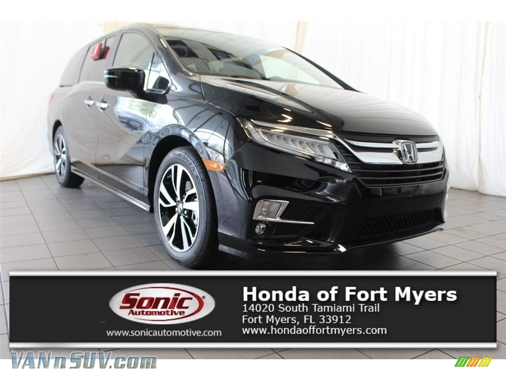 2018 Odyssey Elite - Crystal Black Pearl / Gray photo #1