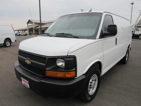 Summit White 2013 Chevrolet Express 2500 Cargo Van