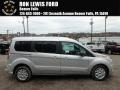Ford Transit Connect XLT Passenger Wagon Silver photo #1