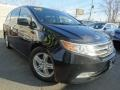 Honda Odyssey Touring Crystal Black Pearl photo #1