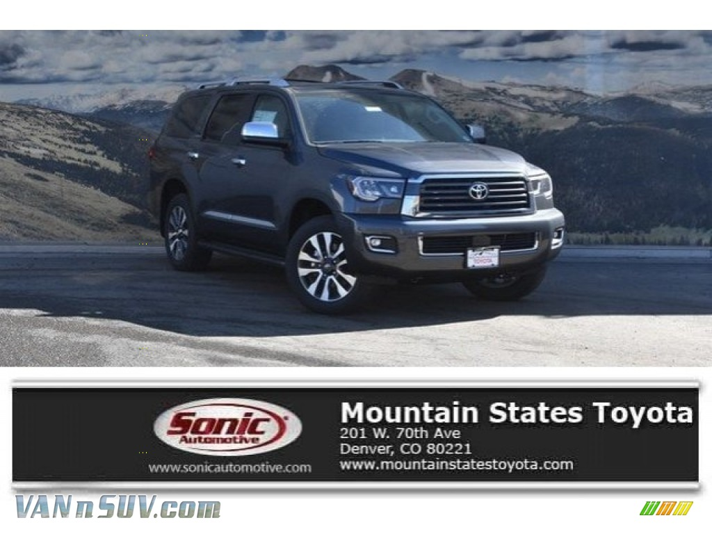 2018 Sequoia Limited 4x4 - Magnetic Gray Metallic / Graphite photo #1