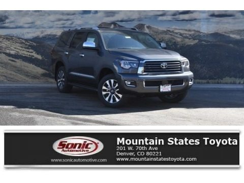 Magnetic Gray Metallic 2018 Toyota Sequoia Limited 4x4