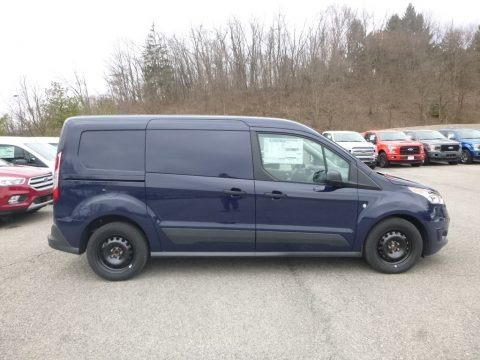 Dark Blue 2018 Ford Transit Connect XLT Van