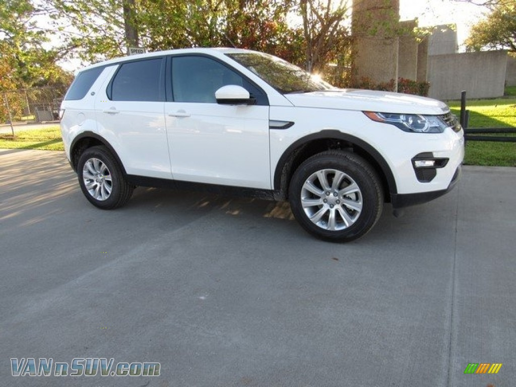 2018 Discovery Sport SE - Fuji White / Ebony photo #1