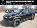 Jeep Cherokee Trailhawk Elite 4x4 Diamond Black Crystal Pearl photo #1