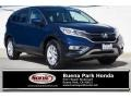 Honda CR-V EX Obsidian Blue Pearl photo #1