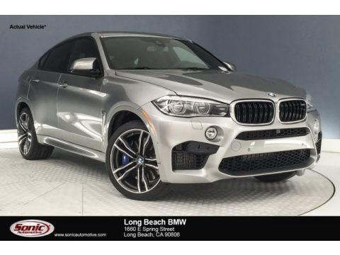 Donington Grey Metallic 2018 BMW X6 M