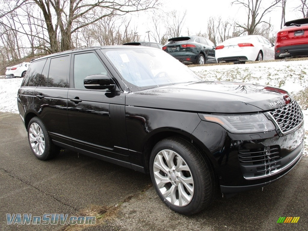 2018 Range Rover HSE - Narvik Black / Ebony photo #1