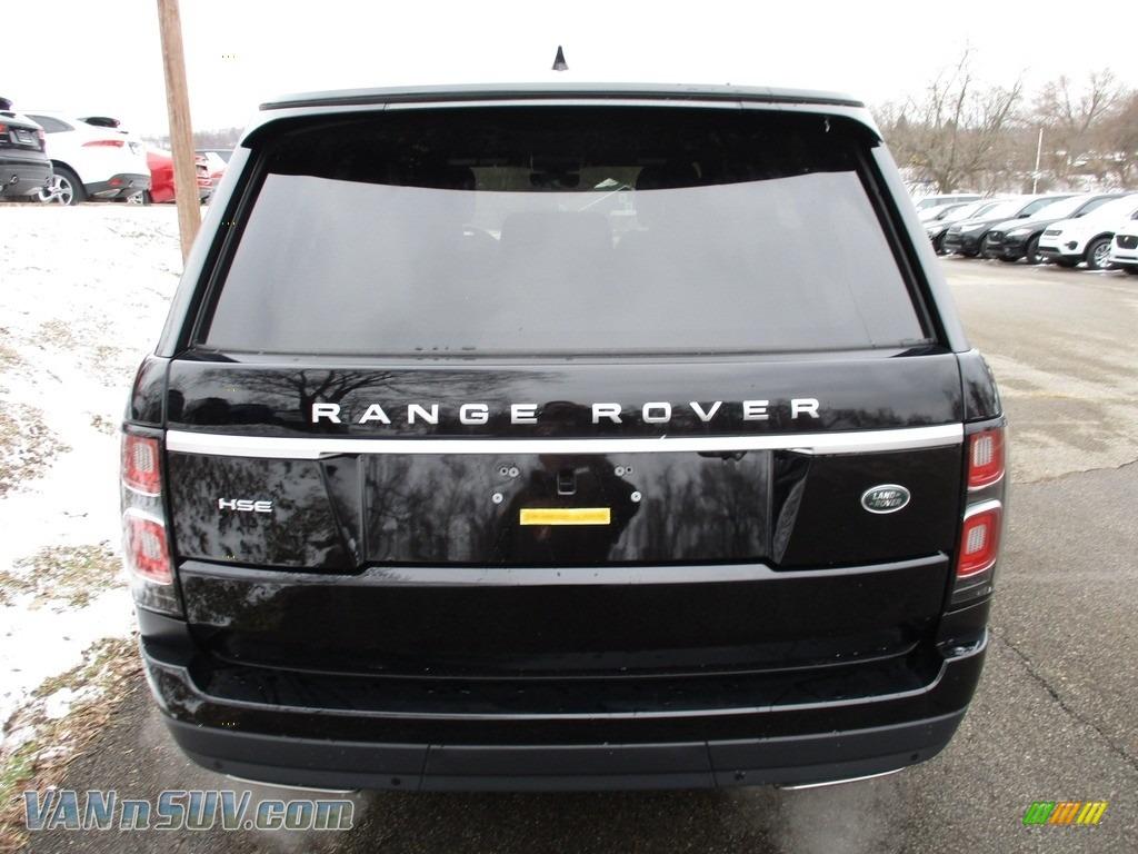2018 Range Rover HSE - Narvik Black / Ebony photo #7