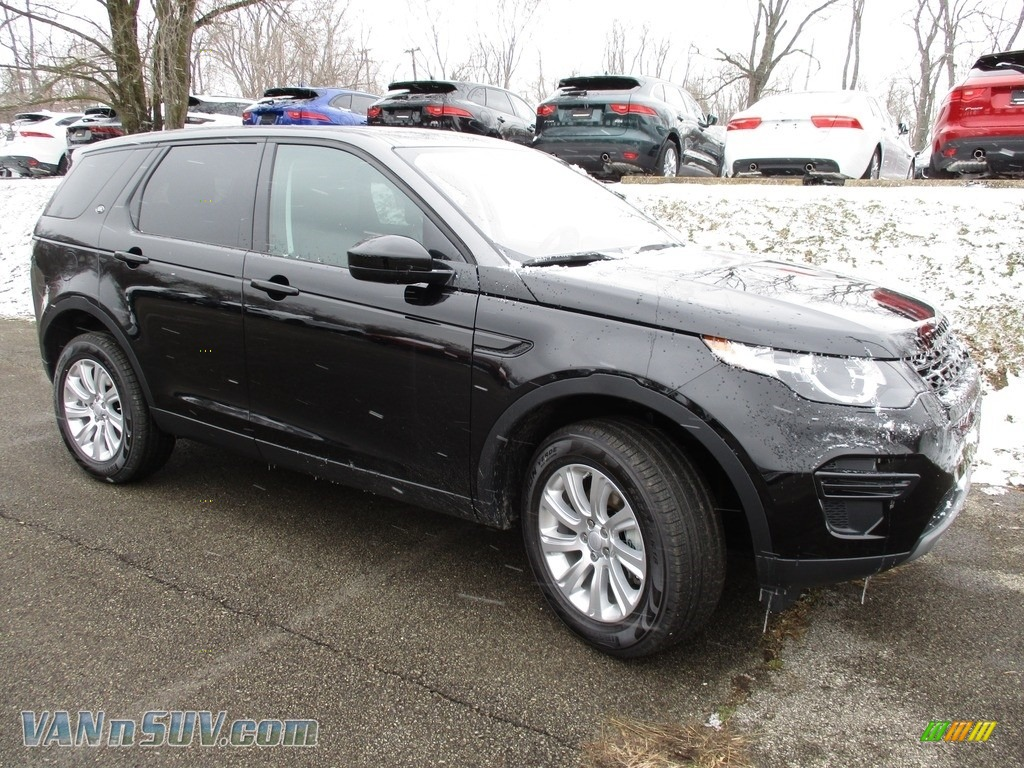 2018 Discovery Sport SE - Narvik Black Metallic / Ebony photo #1