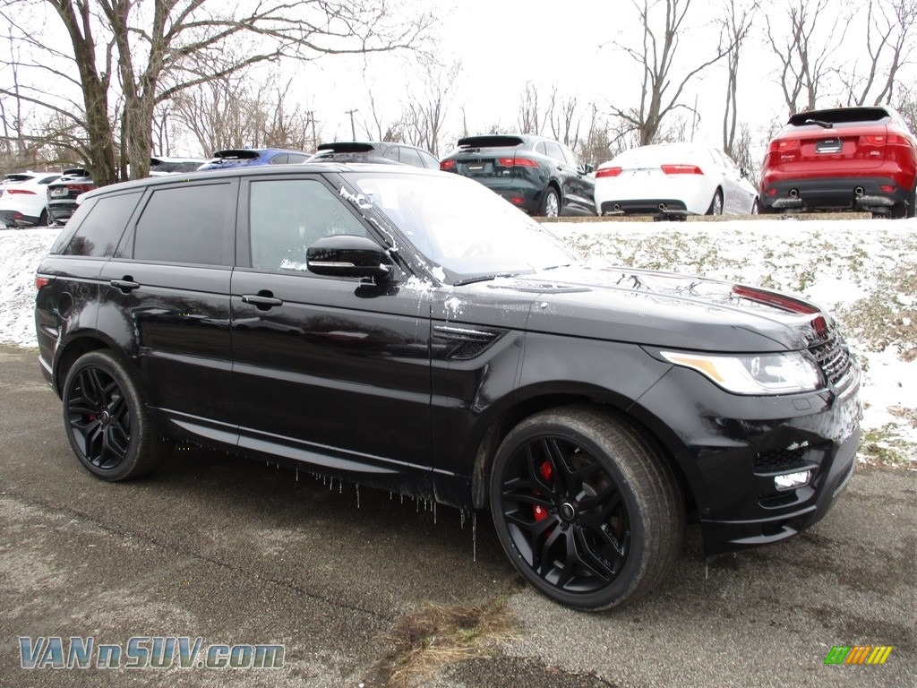 2017 Range Rover Sport HSE Dynamic - Santorini Black / Ebony/Ebony photo #1