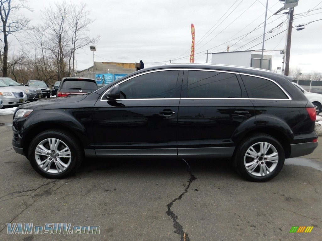 2011 Q7 3.0 TFSI quattro - Orca Black Metallic / Espresso Brown photo #2