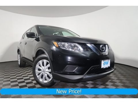Magnetic Black 2016 Nissan Rogue S AWD