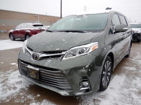 Alumina Jade Metallic 2018 Toyota Sienna Limited
