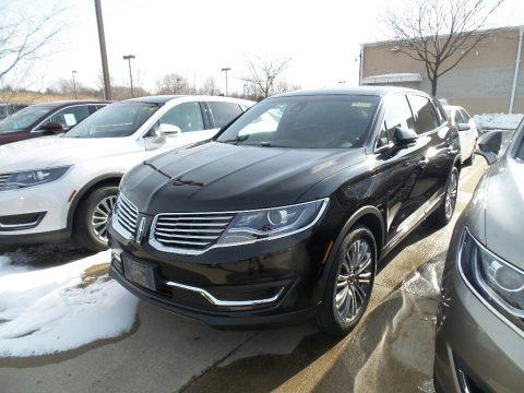 Black Velvet 2018 Lincoln MKX Reserve AWD
