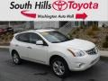 Nissan Rogue SV AWD Pearl White photo #1