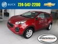 Kia Sportage LX AWD Hyper Red photo #1