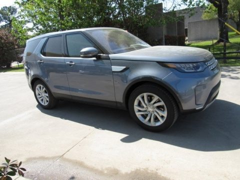 Byron Blue Metallic 2018 Land Rover Discovery HSE