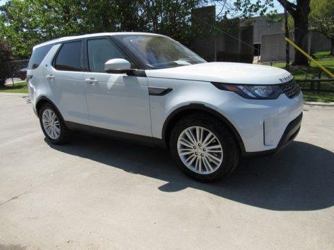 Yulong White Metallic 2018 Land Rover Discovery SE