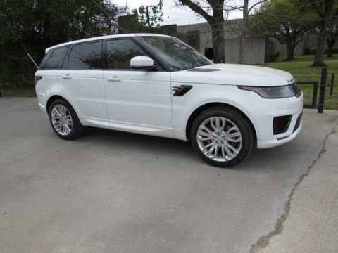 Fuji White 2018 Land Rover Range Rover Sport Supercharged