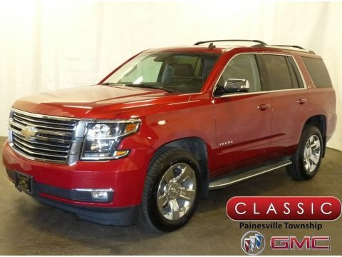 Crystal Red Tintcoat 2015 Chevrolet Tahoe LTZ 4WD