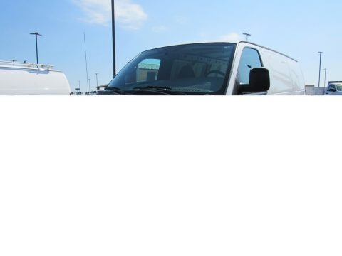 Summit White 2014 Chevrolet Express 1500 Cargo WT