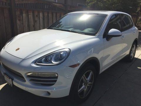 White 2014 Porsche Cayenne