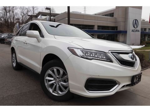 White Diamond Pearl 2017 Acura RDX Technology AWD