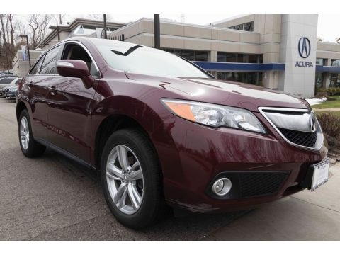 Basque Red Pearl II 2013 Acura RDX Technology AWD