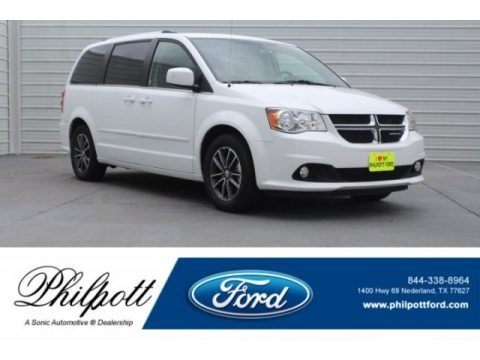 White Knuckle 2017 Dodge Grand Caravan SXT
