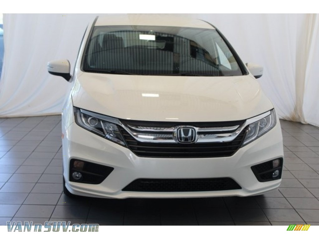 2018 Odyssey EX - White Diamond Pearl / Gray photo #4