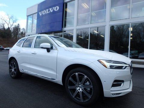 Crystal White Metallic 2018 Volvo XC60 T6 AWD Inscription