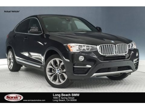 Black Sapphire Metallic 2018 BMW X4 xDrive28i