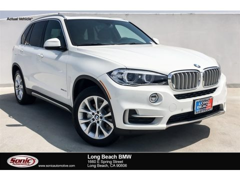 Alpine White 2018 BMW X5 sDrive35i