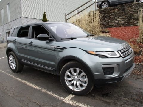 Scotia Grey Metallic 2017 Land Rover Range Rover Evoque SE