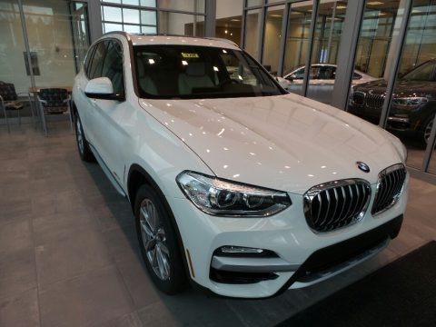Alpine White 2018 BMW X3 xDrive30i