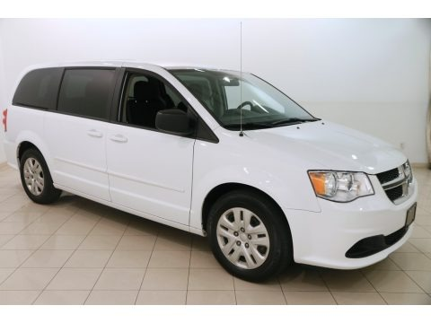 Bright White 2016 Dodge Grand Caravan SE