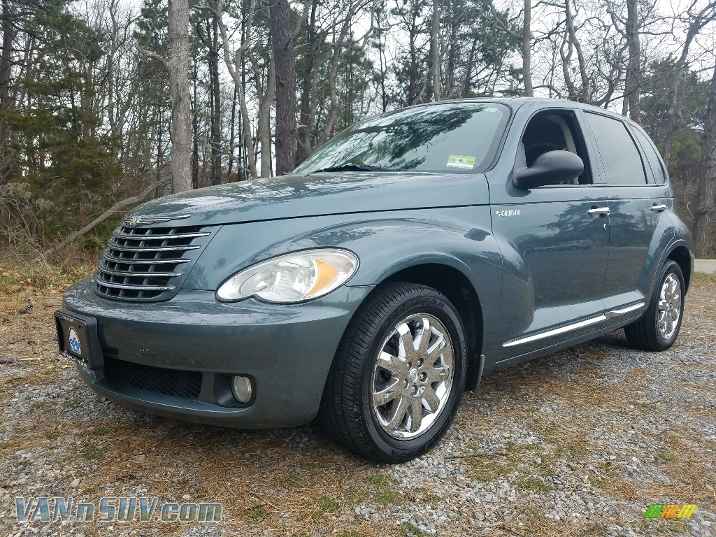 2006 PT Cruiser Limited - Magnesium Green Pearl / Pastel Slate Gray photo #1