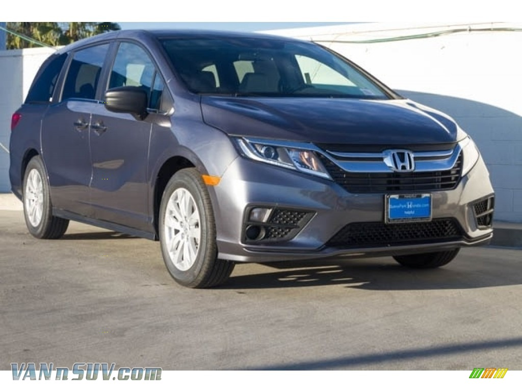 Modern Steel Metallic / Gray Honda Odyssey LX