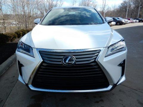 Eminent White Pearl 2018 Lexus RX 350
