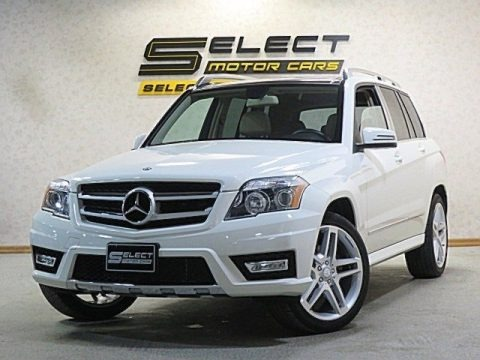 Arctic White 2011 Mercedes-Benz GLK 350 4Matic